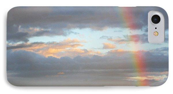 Peterson's Butte Rainbow Landscape IPhone Case by Nick  Boren