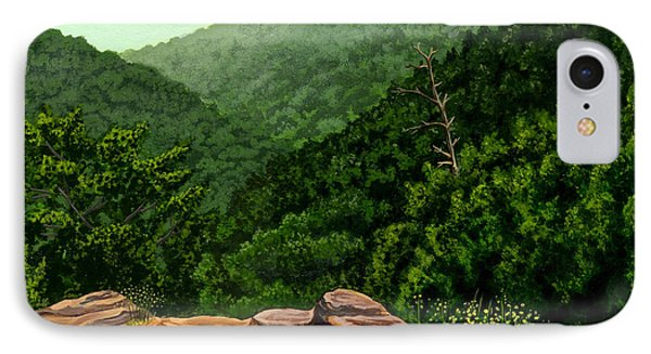 Petit Jean Mountains Phone Case by Dustin Miller