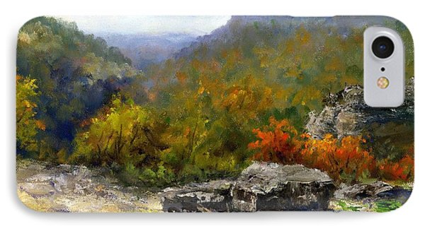 Petit Jean View From Mather Lodge Phone Case by Virginia Potter