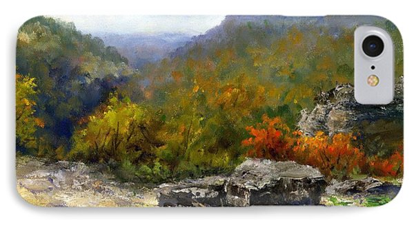 Petit Jean View From Mather Lodge IPhone Case