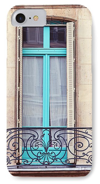 Petit - Parisian Balcony  IPhone Case by Melanie Alexandra Price