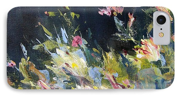 IPhone Case featuring the painting Petite Bouquet by Mary Lynne Powers