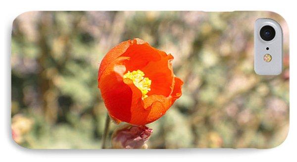 Petite Tangerine Phone Case by Rebecca Christine Cardenas