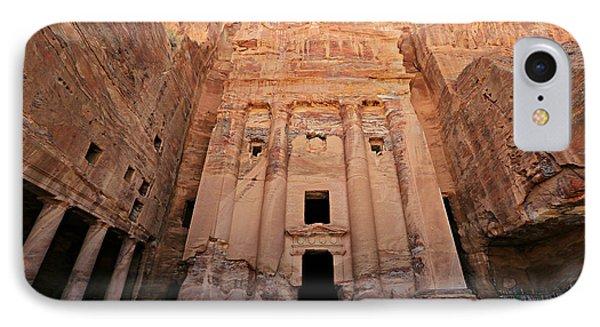 Petra Tomb IPhone Case