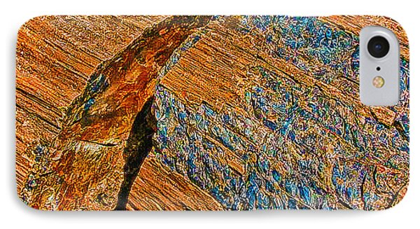 Petrified Forest Logs Phone Case by Bob and Nadine Johnston