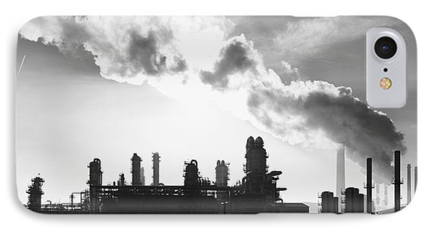 Petrochemical Plant IPhone Case by Hans Engbers