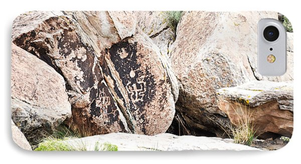 IPhone Case featuring the photograph Petroglyph by Cheryl McClure
