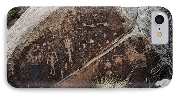 IPhone Case featuring the photograph Petroglyphs by Cheryl McClure