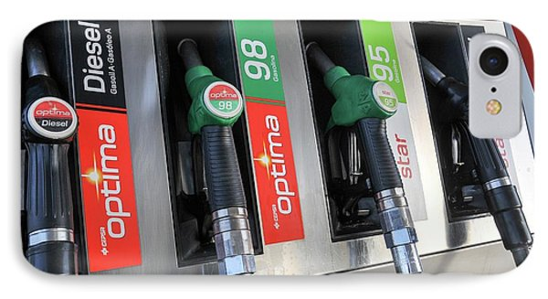 Petrol Station Pumps. IPhone Case