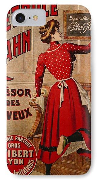 Petrole Hahn Phone Case by Boulanger Lautrec