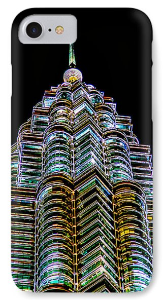 Petronas Tower Phone Case by Adrian Evans