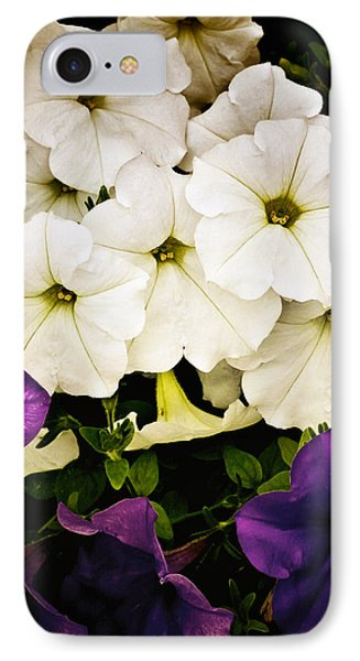 Petunias IPhone Case by Susan Kinney