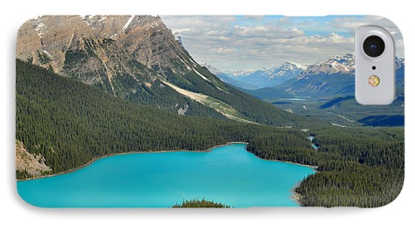 Peyto Lake IPhone Case by Lisa Phillips