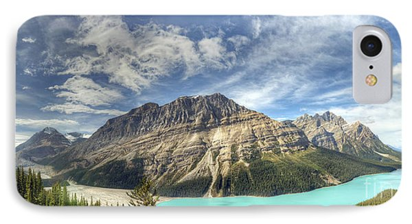 IPhone Case featuring the photograph Peyto Lake by Wanda Krack