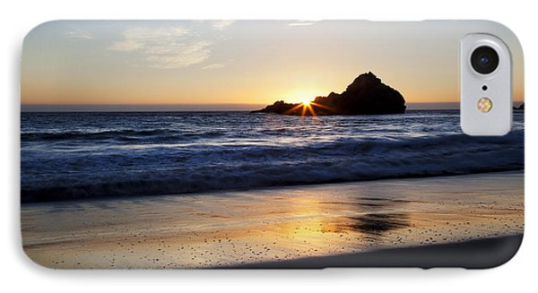 Pfeiffer Beach Sunset Phone Case by Jenna Szerlag