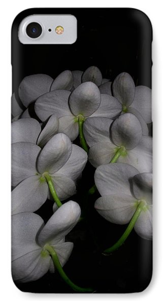 Phalaenopsis Backs IPhone Case by Joyce Dickens