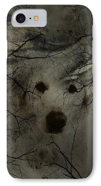 Phantom Dog Phone Case by Shirley Sirois