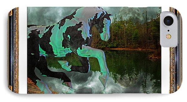 Phantom On The Lake IPhone Case by Betsy Knapp
