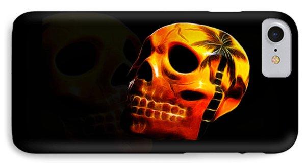 Phantom Skull Phone Case by Shane Bechler