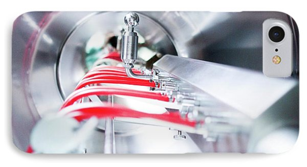 Pharmaceutical Machinery IPhone Case by Gombert, Sigrid