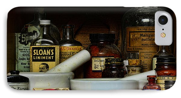 Pharmacist - Cod Liver Oil And More Phone Case by Paul Ward