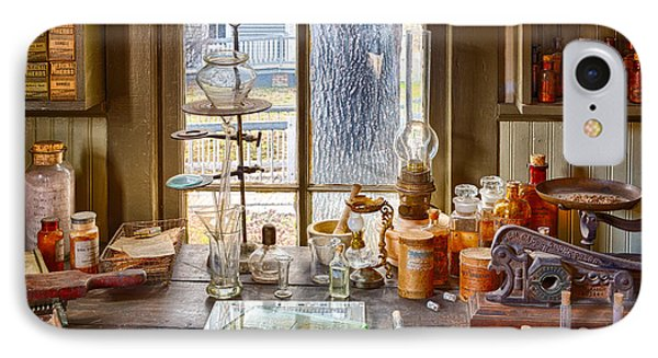 Pharmacist Desk IPhone Case by Inge Johnsson