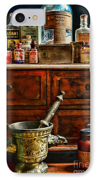 Pharmacist  Old Medicine IPhone Case by Paul Ward