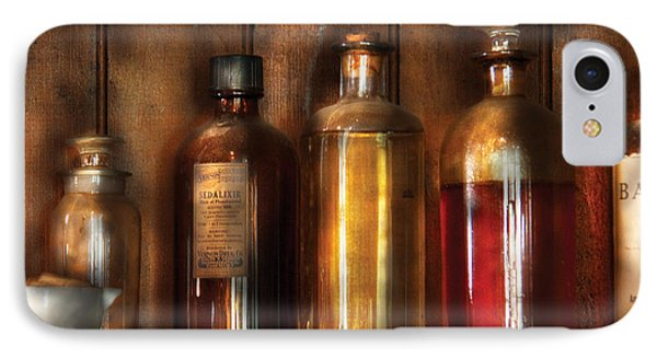 Pharmacist - Various Elixirs  Phone Case by Mike Savad