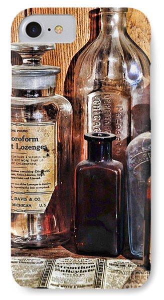 Pharmacy - Chloroform Throat Lozenges Phone Case by Paul Ward