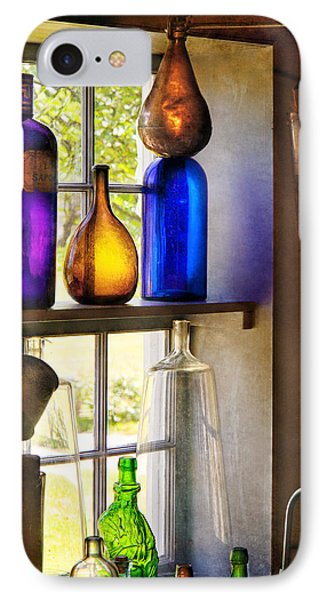 Pharmacy - Colorful Glassware  Phone Case by Mike Savad