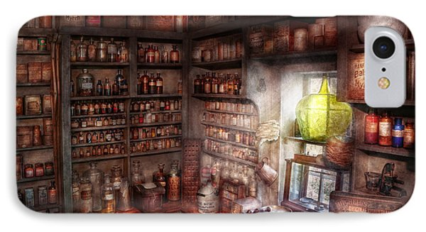 Pharmacy - Equipment - Merlin's Study Phone Case by Mike Savad