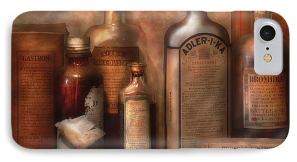 Pharmacy - Indigestion Remedies Phone Case by Mike Savad