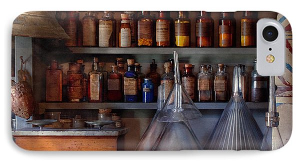 Pharmacy - Master Of Many Trades  Phone Case by Mike Savad