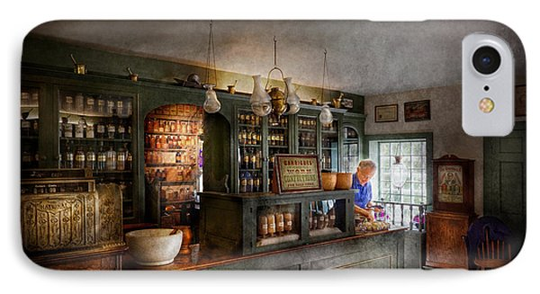 Pharmacy - Morning Preparations Phone Case by Mike Savad