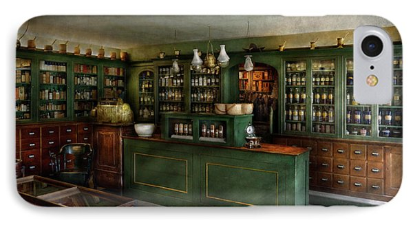 Pharmacy - The Chemist Shop  IPhone Case by Mike Savad