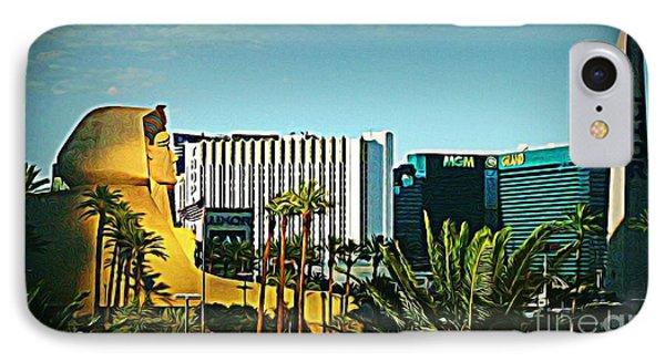Pharoh Of Vegas Phone Case by John Malone