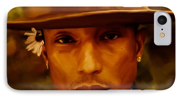 Pharrell Williams Happy IPhone Case by Brian Reaves