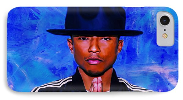 Pharrell Williams Peace On Earth IPhone Case by Brian Reaves