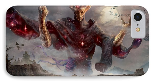 Phenax God Of Deception IPhone Case by Ryan Barger