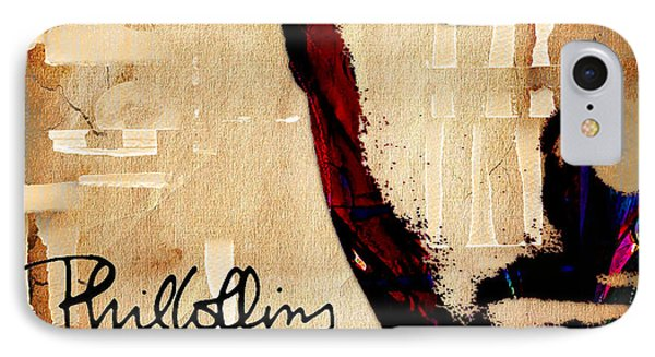 Phil Collins Collection IPhone Case by Marvin Blaine