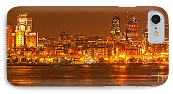 Philadelphia Across The Delaware IPhone Case by Adam Jewell