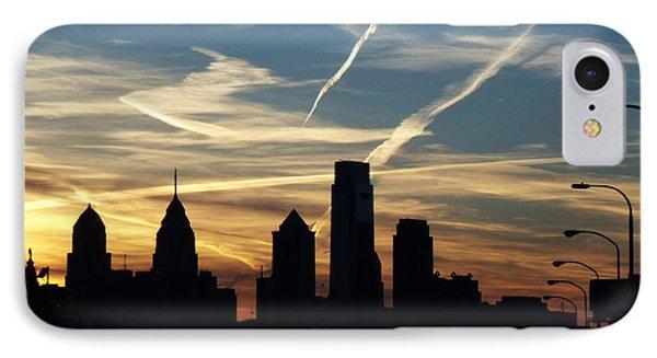 Philadelphia At Dusk IPhone Case by Lyric Lucas