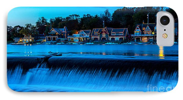 Philadelphia Boathouse Row At Sunset IPhone Case