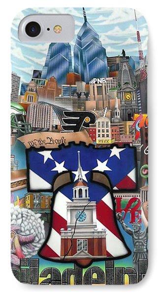 Philadelphia Phone Case by Brett Sauce