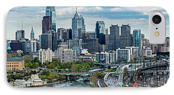 Philadelphia Center City, Schuylkill IPhone Case