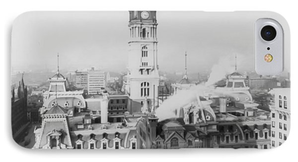 Philadelphia City Hall 1900 Phone Case by Bill Cannon