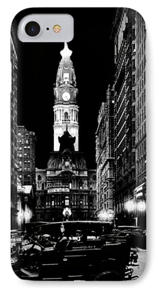 Philadelphia City Hall 1916 Phone Case by Benjamin Yeager