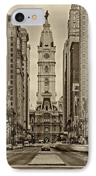 Philadelphia City Hall 2 IPhone Case by Jack Paolini