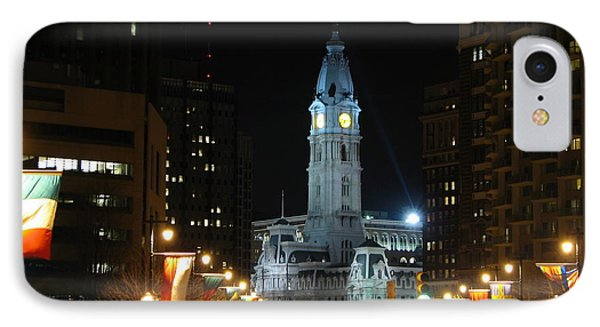 Philadelphia City Hall IPhone Case by Christopher Woods