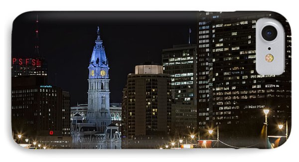 Philadelphia City Hall Phone Case by Eduard Moldoveanu